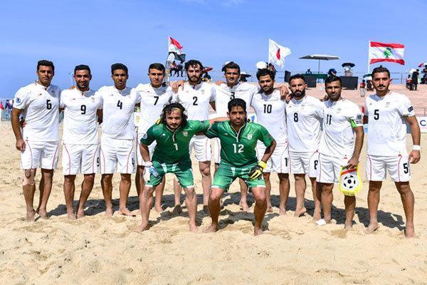 شکست تیم ملی فونبال ساحلی در اولین بازی محبت آمیز