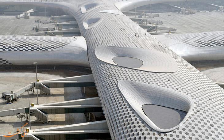 معماری هنرمندانه فرودگاه شنزن چین