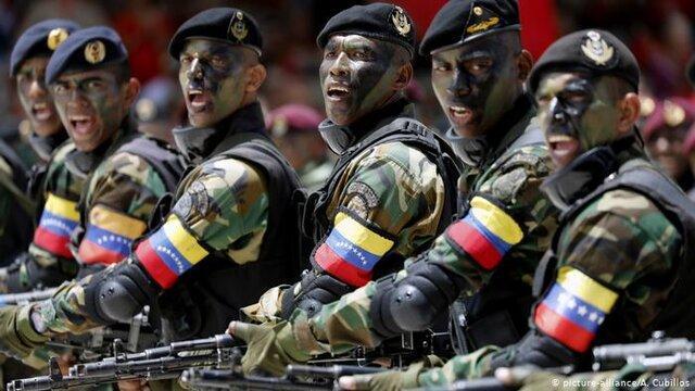 شبه نظامیان دولتی به خیابان های ونزوئلا آمدند