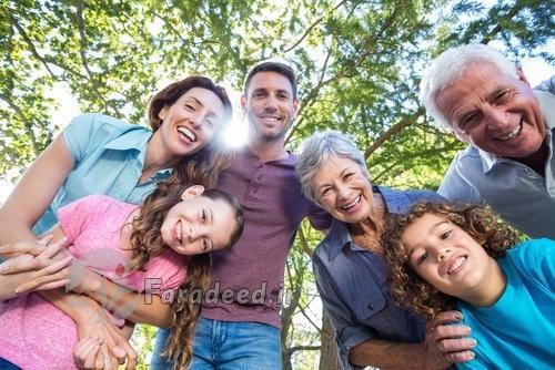 سلامت افراد را رابطه با اعضای خانواده تعیین می کند