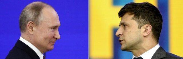 پوتین - زلنسکی؛ رهبرانی با تفاوت های زیاد