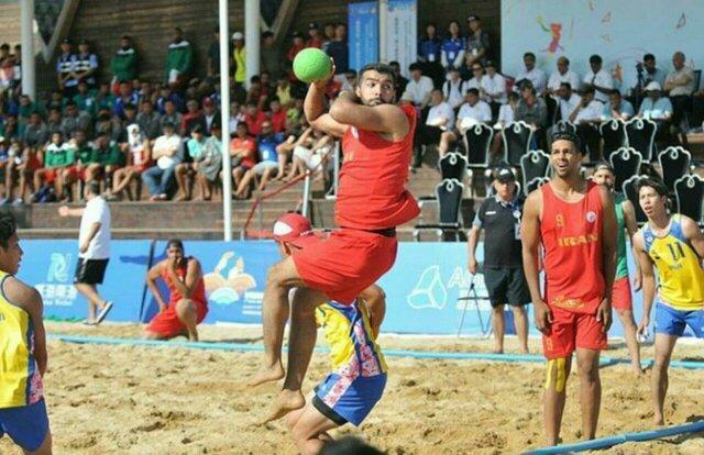 فزونی تیم ملی هندبال ساحلی مقابل تایلند