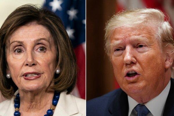 مجلس نمایندگان درباره ارسال مفاد استیضاح ترامپ رأی گیری می نماید