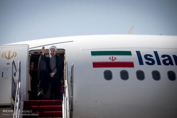 روحانی راهی اروپا شد، دو نقشه راه با فرانسه و ایتالیا امضا می گردد