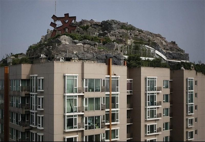 ویلای عجیب در چین تخریب می گردد
