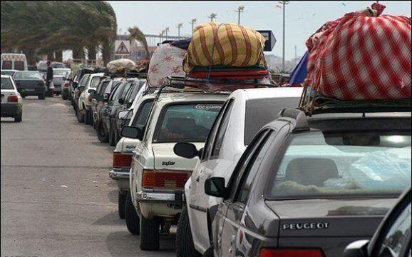 خبرنگاران ورودی غرب هرمزگان به روی مسافران نوروزی بسته شد