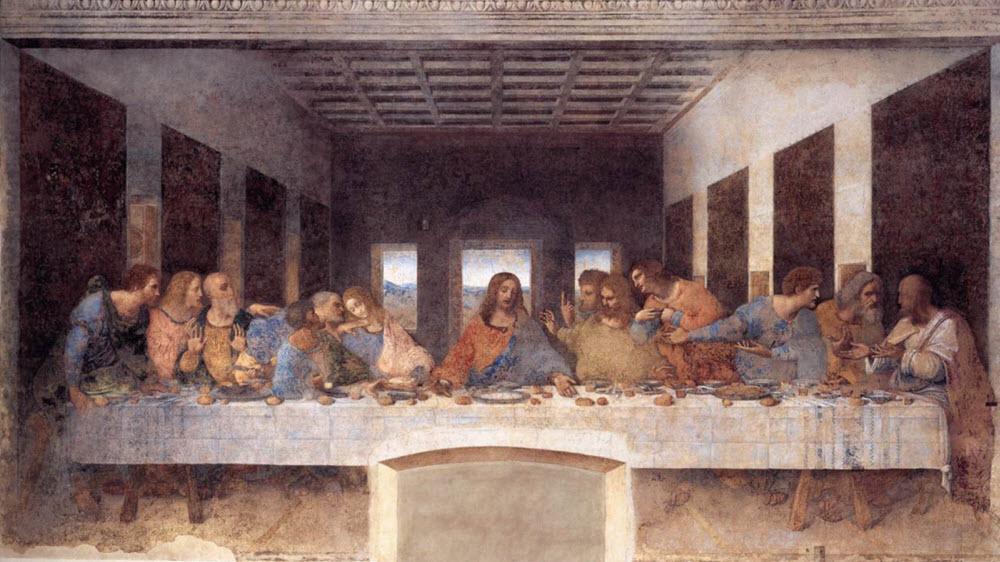 آیا کسانی را که در تابلوی شام آخر لئوناردو داوینچی حضور دارند، می شناسید؟