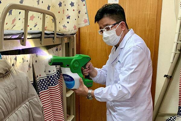 تولید ضد عفونی کننده ای که تا 90 روز از سطوح در برابر ویروس کرونا محافظت می کند