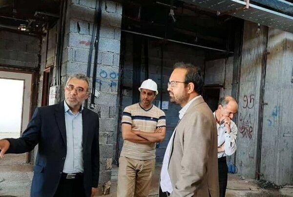 خبرنگاران ساختمان بیمارستان بشرویه تا انتها سال جاری تکمیل می گردد