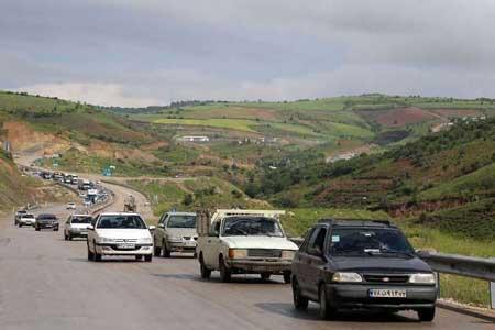 تردد در جاده های شمالی کشور روان است