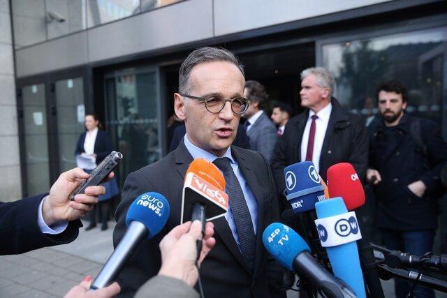 ابراز تاسف وزیر خارجه آلمان از تصمیم آمریکا برای خروج از پیمان آسمان های باز