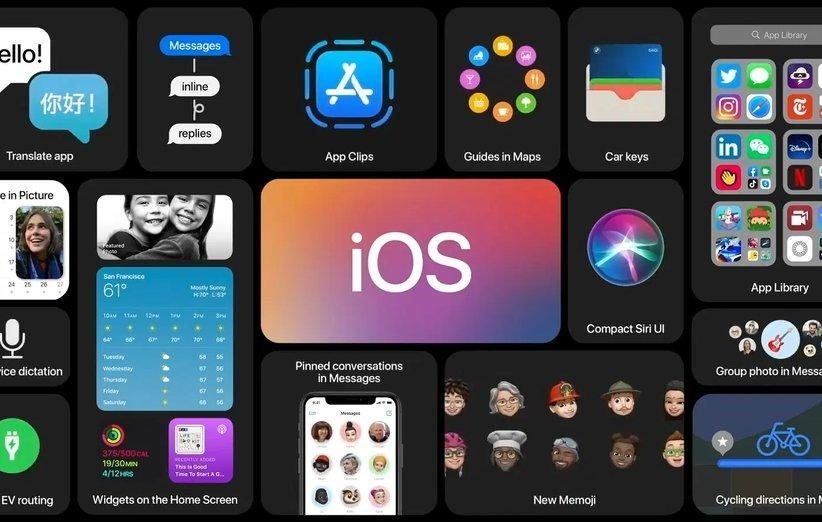 اپل از iOS 14 رونمایی کرد