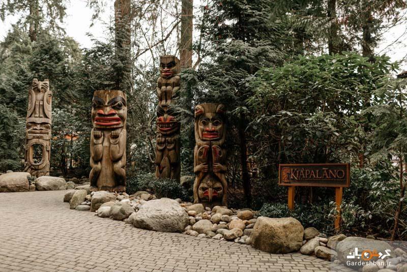 پل معلق کاپیلانو ؛ محبوب ترین جاذبه گردشگری ونکوور، عکس
