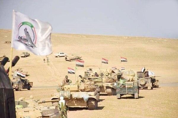 3 مقر داعش توسط حشد شعبی منهدم شد