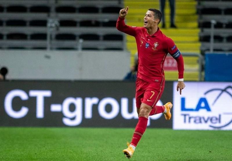 برد پرتغال مقابلسوئد با 101 گله شدن رونالدو، جشنواره گل فرانسه و بلژیک