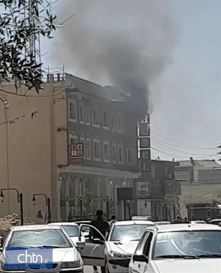 آتش سوزی در هتل زرین دماوند خسارت جانی نداشت