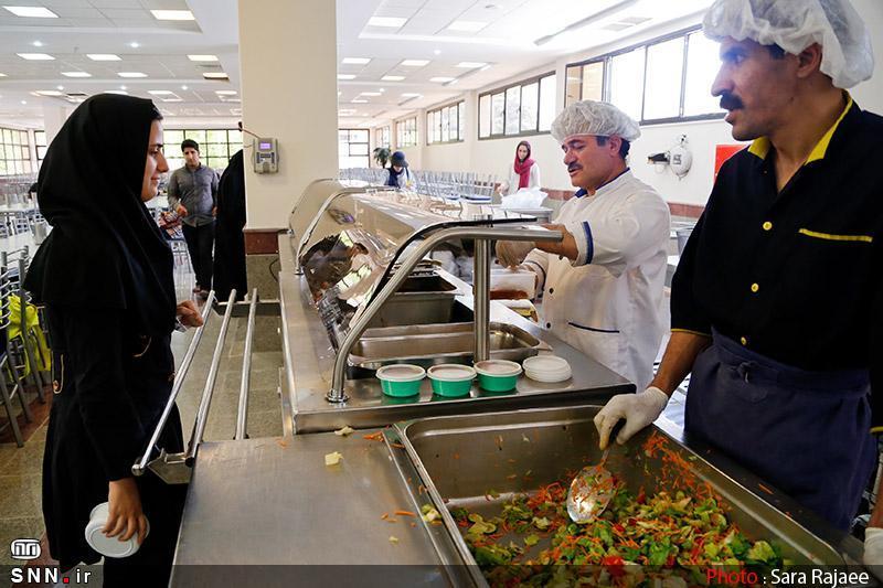 تهیه غذای دانشجویان به صورت محدود ، آشپزخانه ها سال جاری فعال نیستند