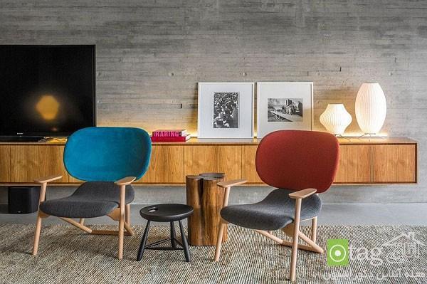 آنالیز طراحی داخلی امروزی منزلی شیک با جوی گرم و دوست داشتنی