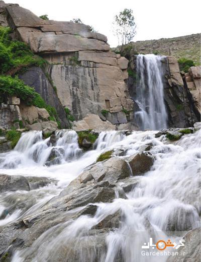 آبشار گنج نامه؛ جاذبه زیبای همدان
