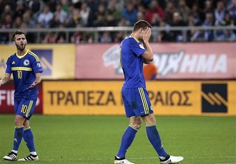ادین ژکو بازی با ایران را از دست داد
