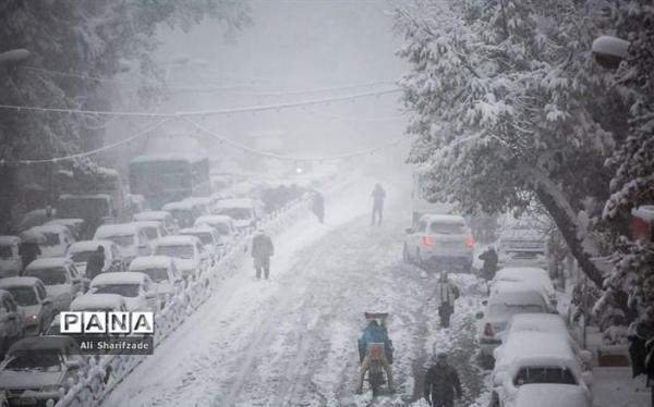 اجرای عملیات طرح زمستانی بزرگراه های تهران