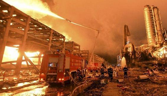 انفجار در کارخانه شیمیایی در چین یک کشته و چند مفقود و زخمی بر جا گذاشت