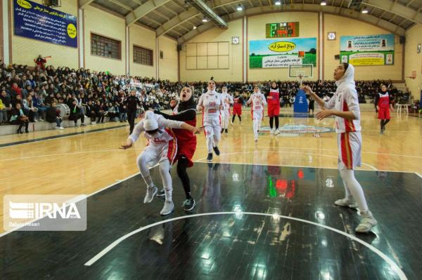 خبرنگاران شکست تیم بسکتبال بانوان گرگان در برابر نوشت افزار کنکو تهران