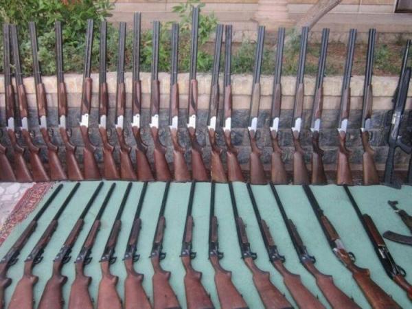 انهدام باند قاچاق اسلحه