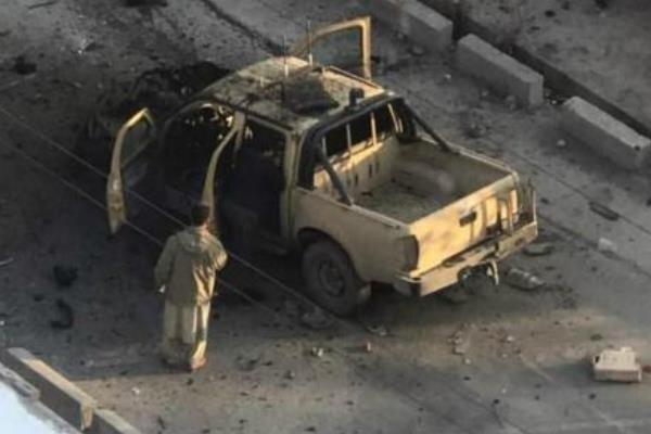 انفجار خودرو بمب گذاری شده در قندهار، 7 نیروی امنیتی زخمی شدند