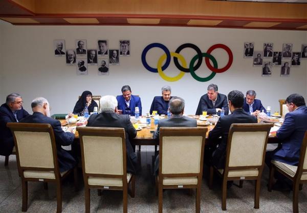 آنالیز تخصیص بودجه فدراسیون ها در هیئت اجرایی کمیته ملی المپیک، ارائه نحوه پرداخت حقوق المپین ها