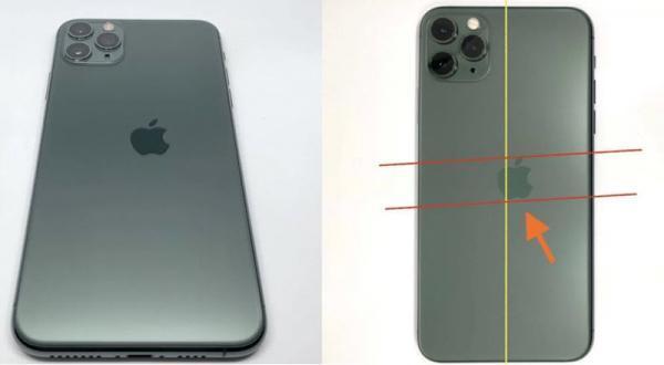 این آی فون 11 پرو که لوگوی اپل بر روی آن بد چاپ شده بود با قیمت 2700 دلار به فروش رسید!