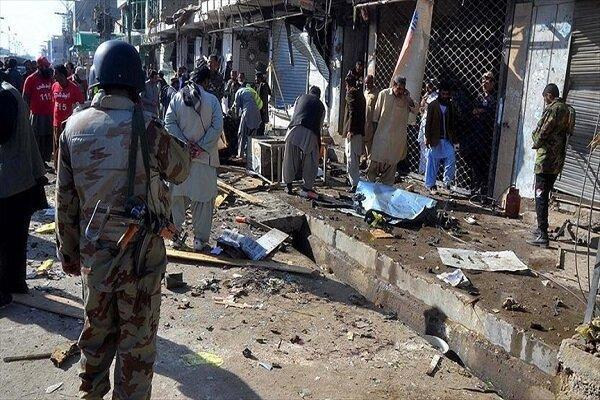 حمله تروریستی در پاکستان، 4 نظامی کشته و 8 تَن زخمی شدند