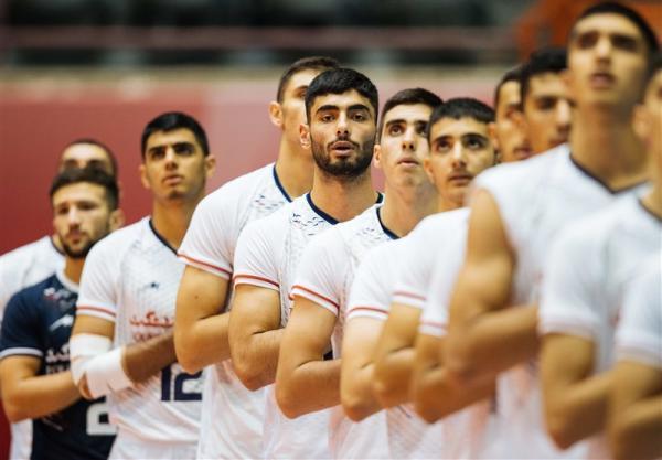 صعود تیم والیبال نوجوانان ایران در رنکینگ جهانی