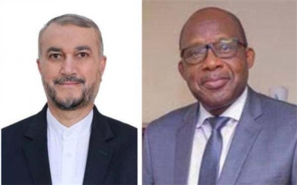 وزیر امور خارجه کنگو انتصاب امیرعبداللهیان را تبریک گفت